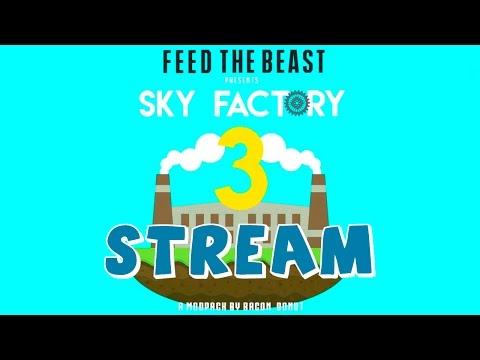 СТРИМ - Sky Factory 3 - Курятник, Остров Ферм, Метро