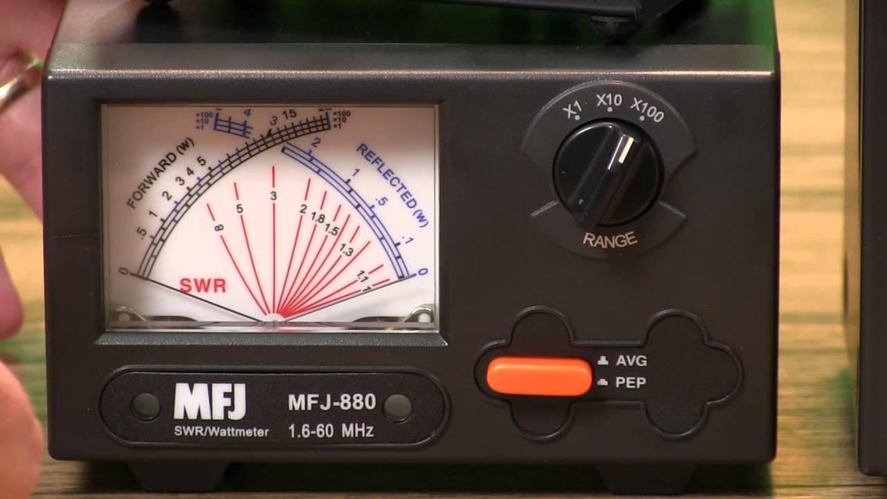 MFJ Watt Meters & SWR Meters
