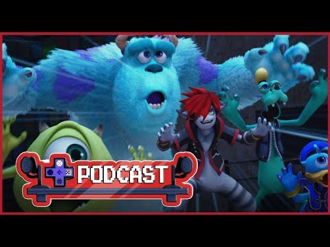 Kingdom Hearts 3 Release Date News, Monster's Inc World and More. | Press X Podcast Ep. 110