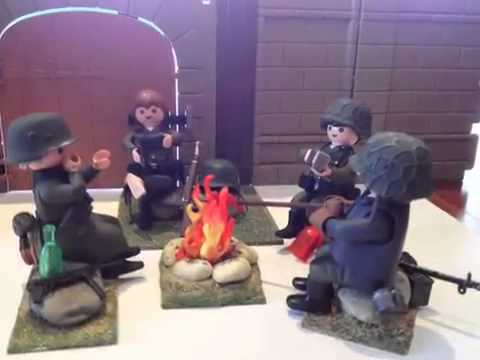 Custom playmobil soldat ww2 1 youtube - Playmobil soldat ...