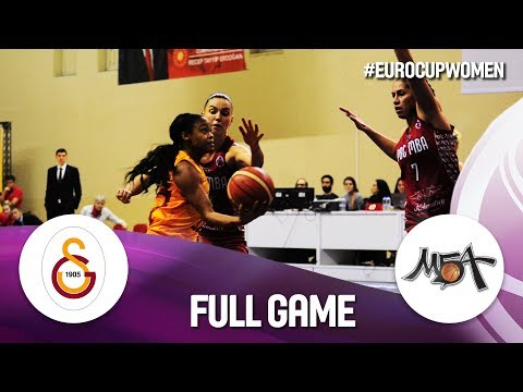 Galatasaray v MBA Moscow - Full Game - EuroCup Women 2019