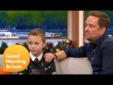 Simon Thomas Describes Adjusting to Life With His Son After His Wife's Death | Good Morning Britain
