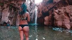 Cliff Jumping at Hidden Swimming Holes in Arizona