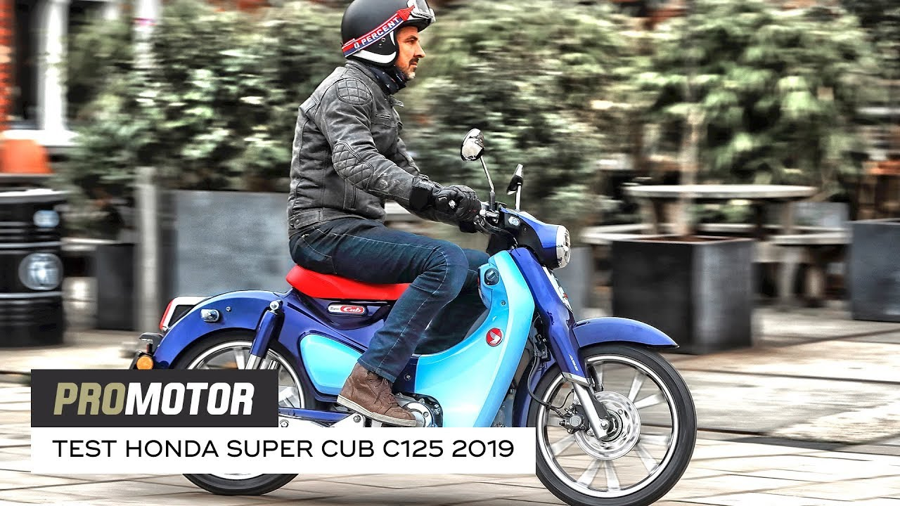 Honda Super Cub C125 2019 Test