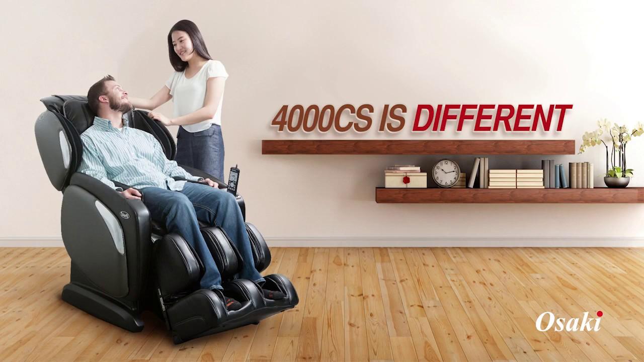 osaki os4000 cs ls massage chair video