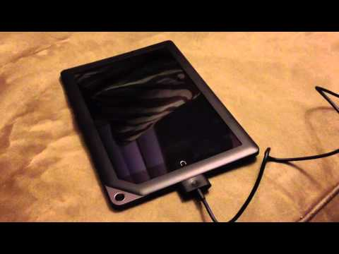 My Nook HD+ does not charge when turned off.  Automatically turns on after plugging power cable.
