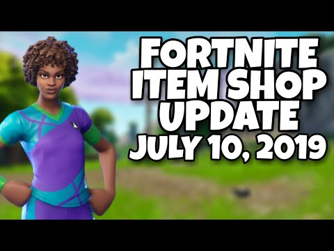 Fortnite Item Shop Today SOCCER SKINS ARE BACK!! [July 10th, 2019] (Fortnite Battle Royale)