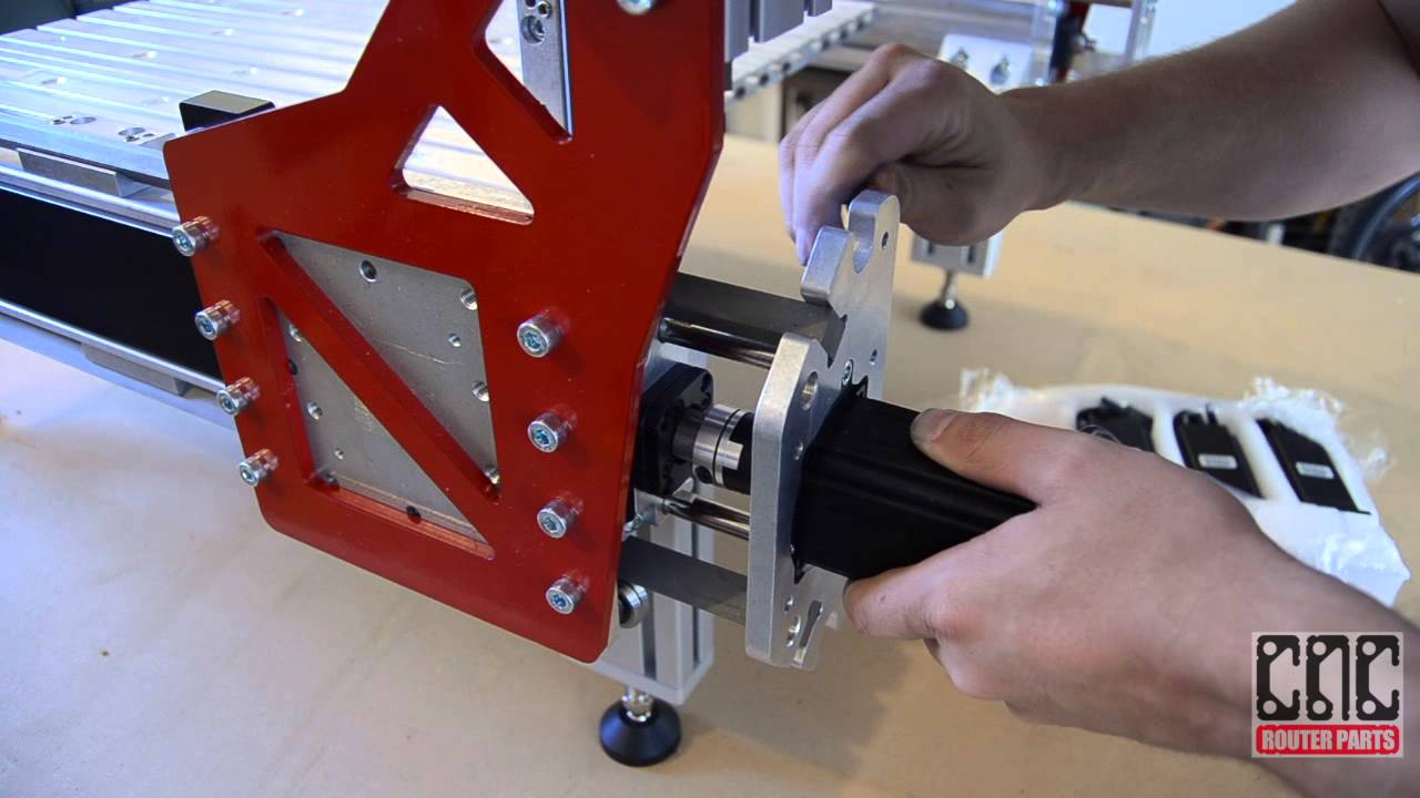 Assembling The Benchtop Pro Cnc Machine From Cnc Router Parts Youtube