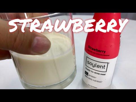 Strawberry Soylent Taste Test