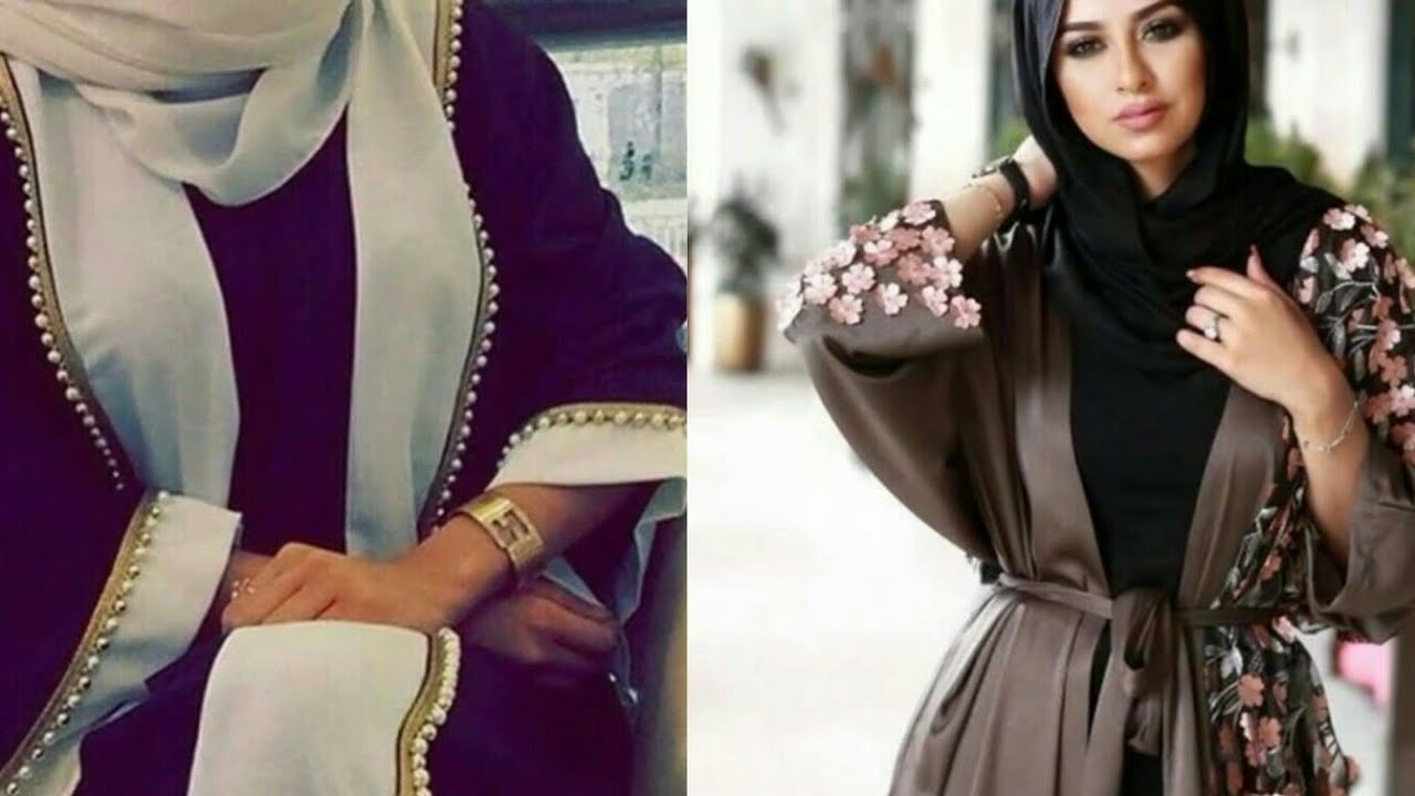 5a3fd06cb جديد عبايات 2018 | abaya new collection - YouTube