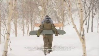 A nice feature about japanese snowsurf maker Atsushi Gomyo with a s...