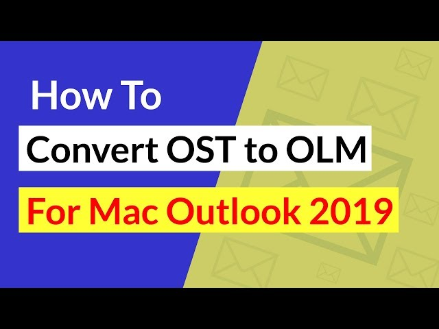 OST to OLM Converter to Import OST File to Mac Outlook with Contacts