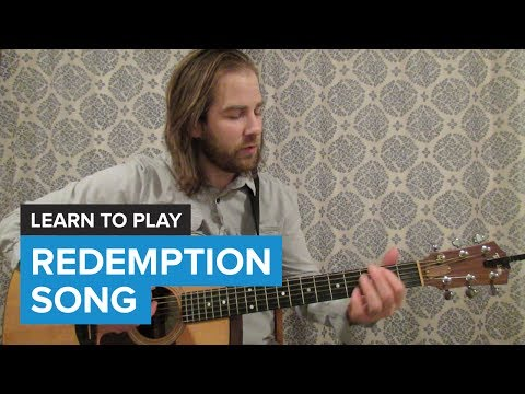 How to play Redemption Song  Bob Marley Guitar Chords & Lesson