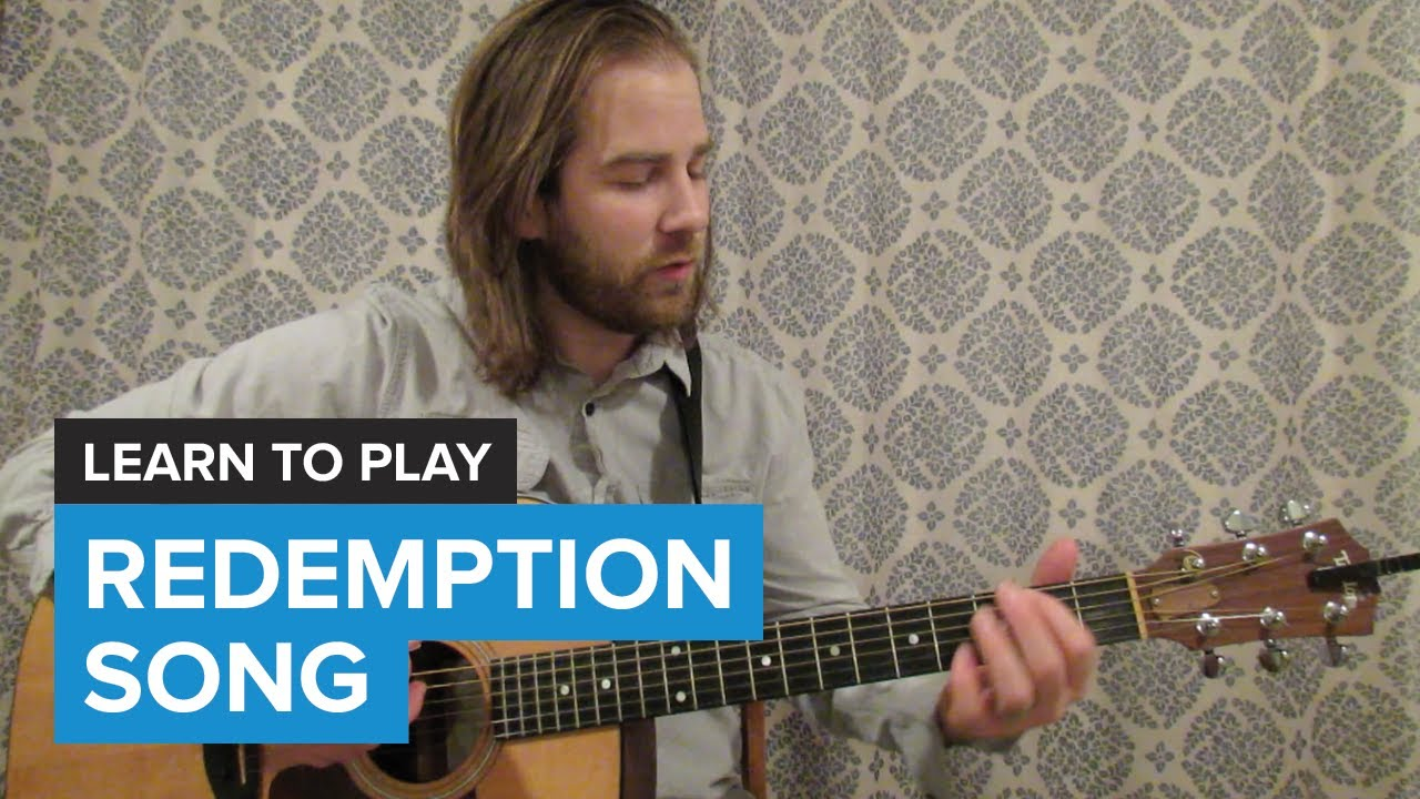 How To Play Redemption Song By Bob Marley Guitar Chords Lesson