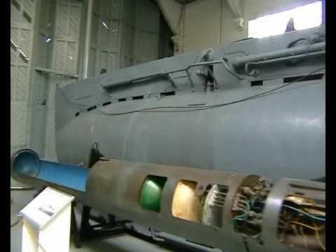 Midget Submarines at Duxford