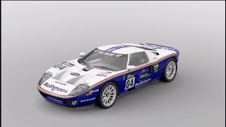 GRAN TURISMO SPORT Ford gt Rothmans race car livery