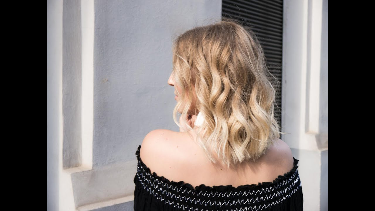 Meine Haar Routine Beach Waves Youtube