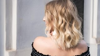Meine Haar Routine - Beach Waves