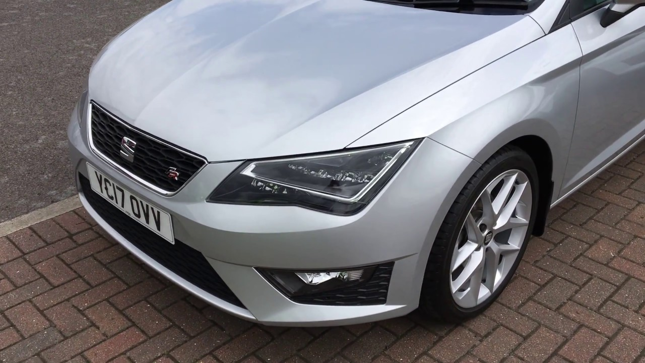 used seat leon 1 4 ecotsi 150 fr 3dr technology pack silver 2017 youtube. Black Bedroom Furniture Sets. Home Design Ideas