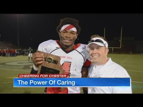 Power of caring: Concerned family takes high school football star under their wing