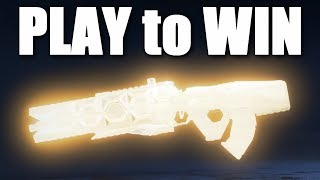 The PLAY TO WIN Gun in Apex Legends