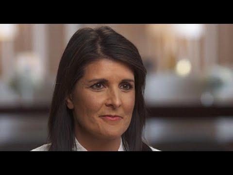 Ambassador Nikki Haley on Trump and diplomacy - YouTube