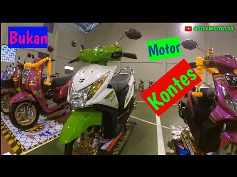 Kontes Motor (Part 1) Meet Up Modification at SC Langensari Kota Banjar 2018 #MMV9
