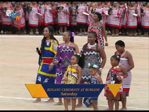 Buganu Ceremony at Buhleni  on Saturday
