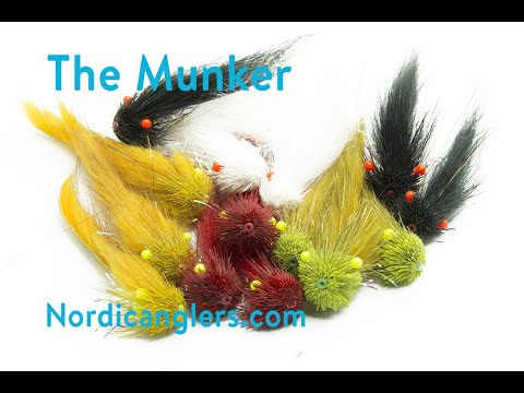 Salmon Fly Tying Lesson, Step By Step, How To Tie The: The Munker