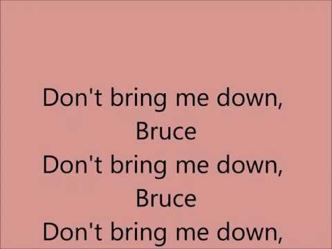 Don't Bring Me Down - Electric Light Orchestra E.L.O. [Lyrics] [HD]