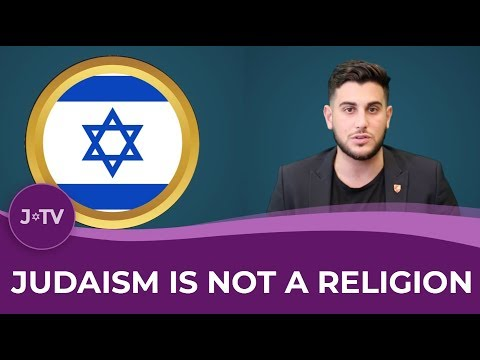 Judaism is NOT a Religion.