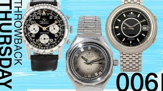 Throwback Thursday: Best Vintage Watches Flying Under the Radar