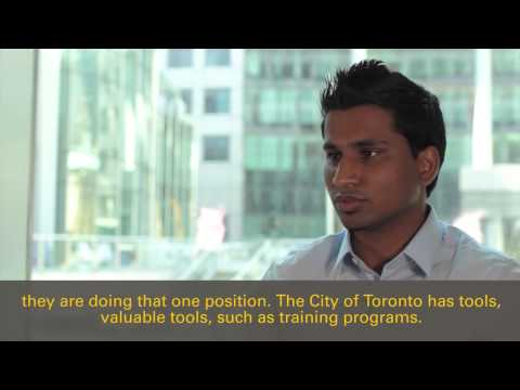 City of Toronto IT Jobs Employee Testimonial - Ramesh
