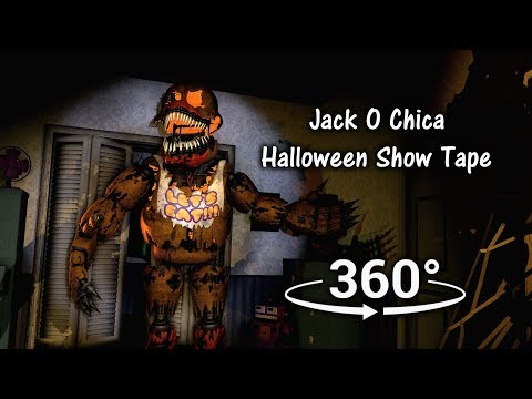 360°| Jack O Chica Halloween Tape - Five Nights at Freddy's 4 [SFM] (VR Compatible) thumbnail