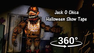 360°| Jack O Chica Halloween Tape - Five Nights at Freddy's 4 [SFM] (VR Compatible)