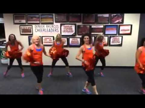 The Denver Broncos Cheerleaders Accept the #ShakeEbolaOff Challenge!