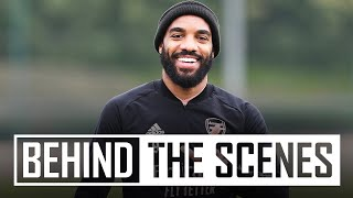 Tierney & Lacazette return to training | Behind the scenes at Arsenal training centre