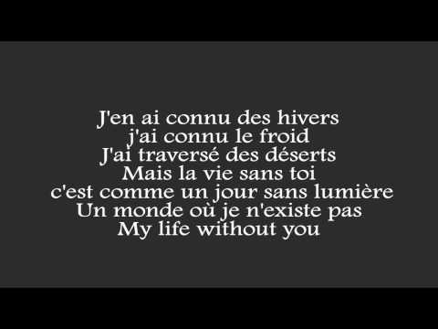 Marvin & Phyllisia Ross - ma vie sans toi [PAROLES]