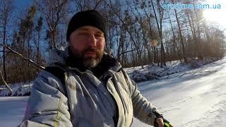 Зимняя рыбалка  с подводной съёмкой.
