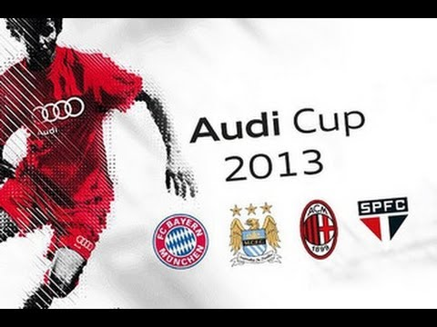 Audi cup 2013 final Manchester City vs Bayern Munich Full Game