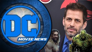 Zack Snyder's Exit, an Aquaman Trailer on it's Way, & New Castings!  - DC Movie News