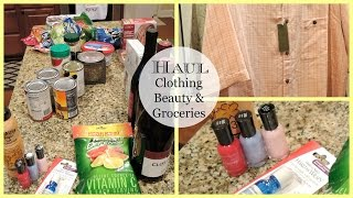 Haul | Clothing, Beauty & Groceries