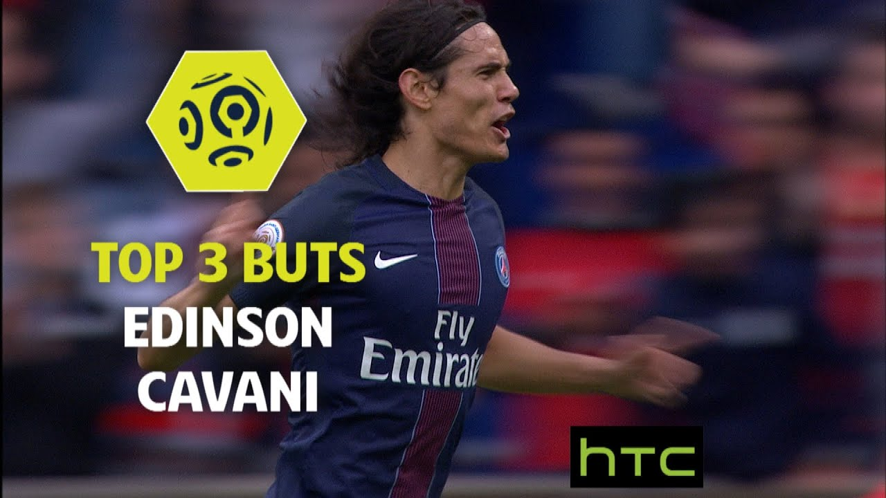 Top 3 Buts Edinson Cavani PSG 2016 17 Ligue 1