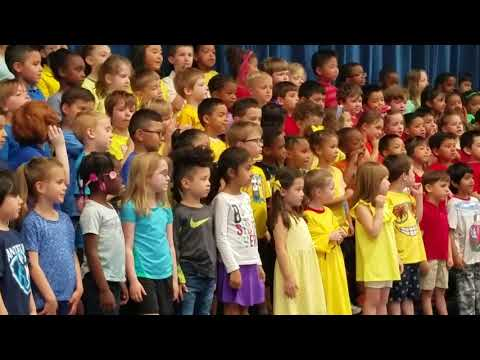 Daniela performances at Antietam Elementary School 2018