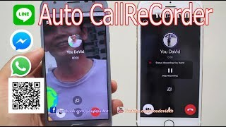 How to Auto Call Recorder Facebook Messenger , WhatsApp , Line