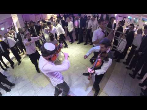 Dub-Step Violin Dance at Jewish Orthodox Wedding in Jerusalem