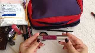 Makyaj Çantamda Ne Var? (Seyahat Boyu) / What's in My Make Up Bag? (Travel Size)