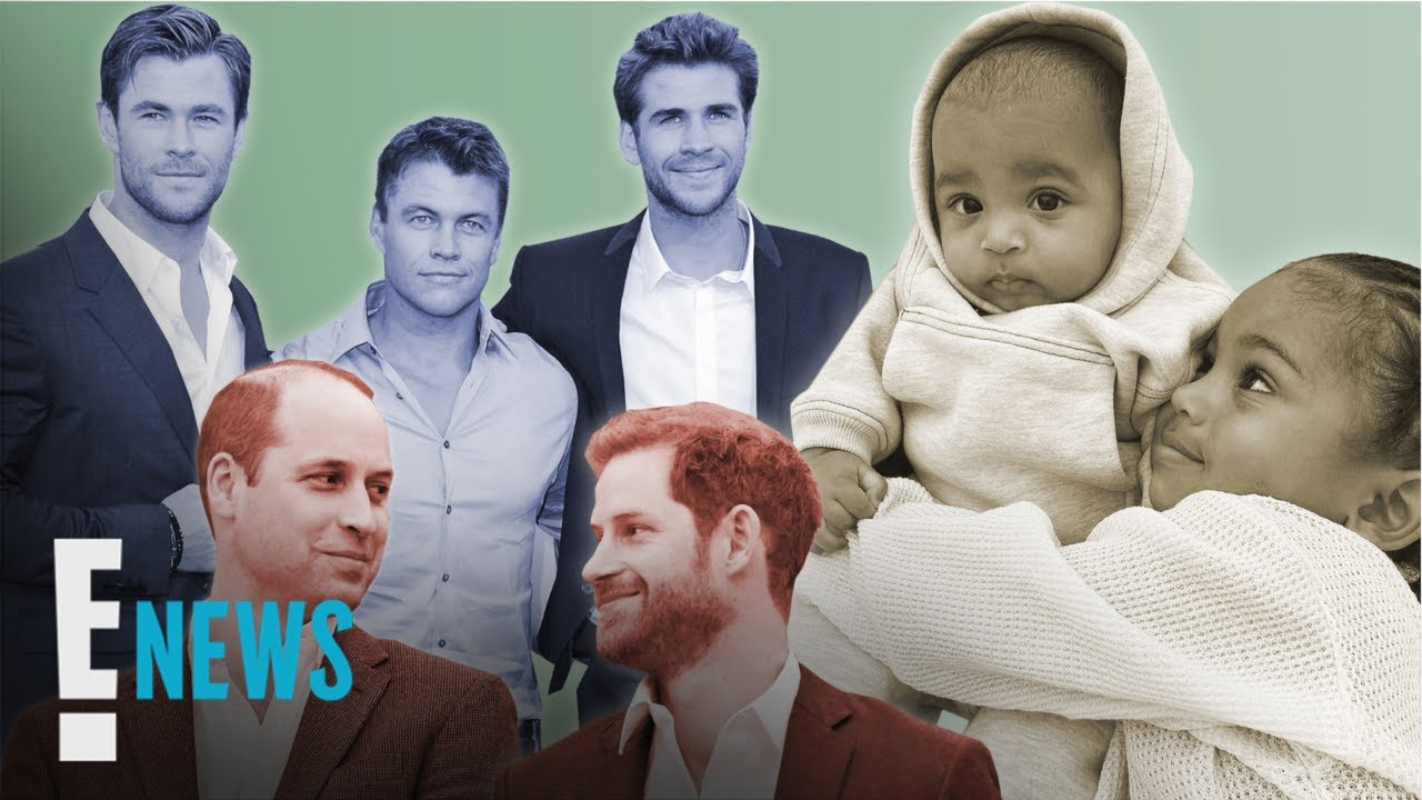 6 Famous Brothers We Love on National Brother's Day News