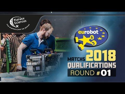 Eurobot Open 2018 - Round 1