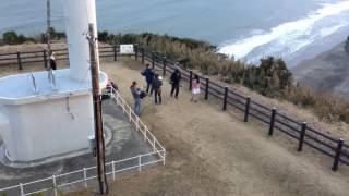 飯岡灯台に行ったら、上白石萌音さんが撮影をしていました。
